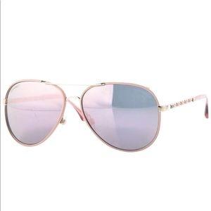 authentic CHANEL Pilot Winter Sunglasses 🕶 pink